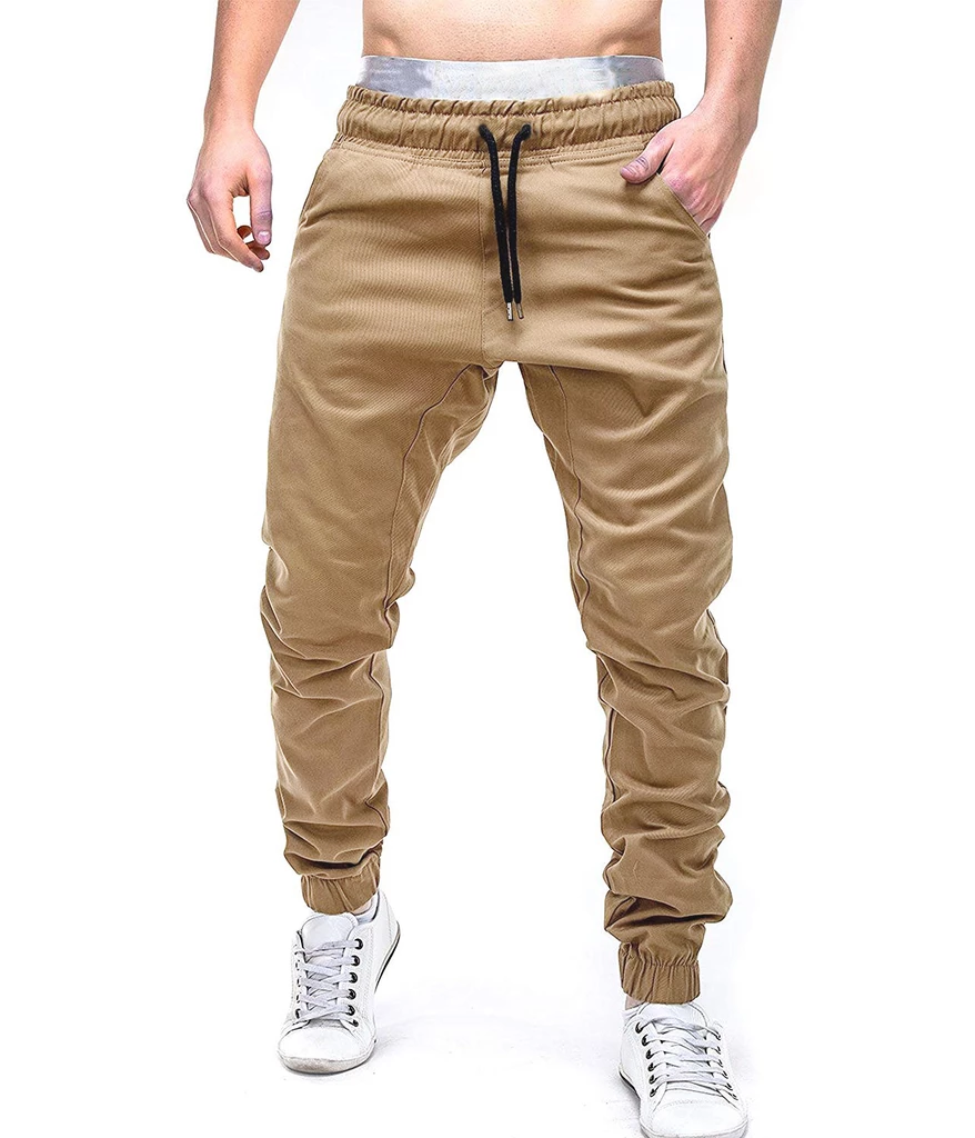 Hombres Pantalon De Chandal La Calle Hip Hop Pantalones Casual Elastico Anchos Corredores Casual Pants Style Men S Sweatpants Casual Pants