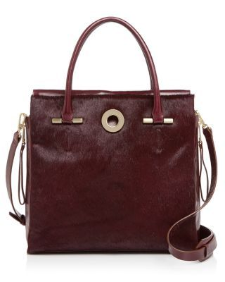 HALSTON HERITAGE Large Grace Calf Hair Tote.  halstonheritage  bags   shoulder bags  hand bags  fur  tote   cb3423677edf3