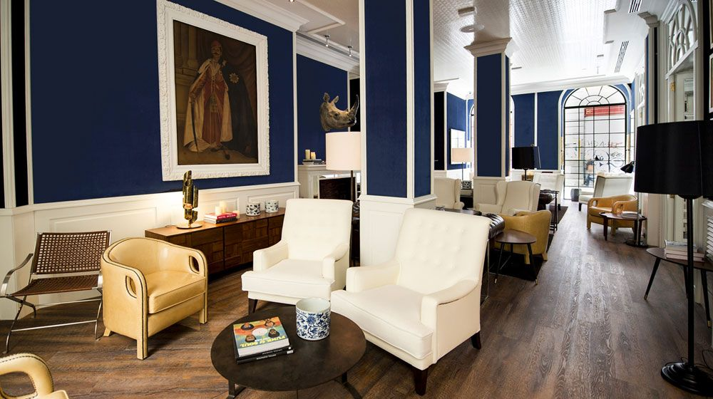 Only You Hotel & Lounge Madrid in Madrid | Splendia | Hotel lounge, Lounge,  Floor design