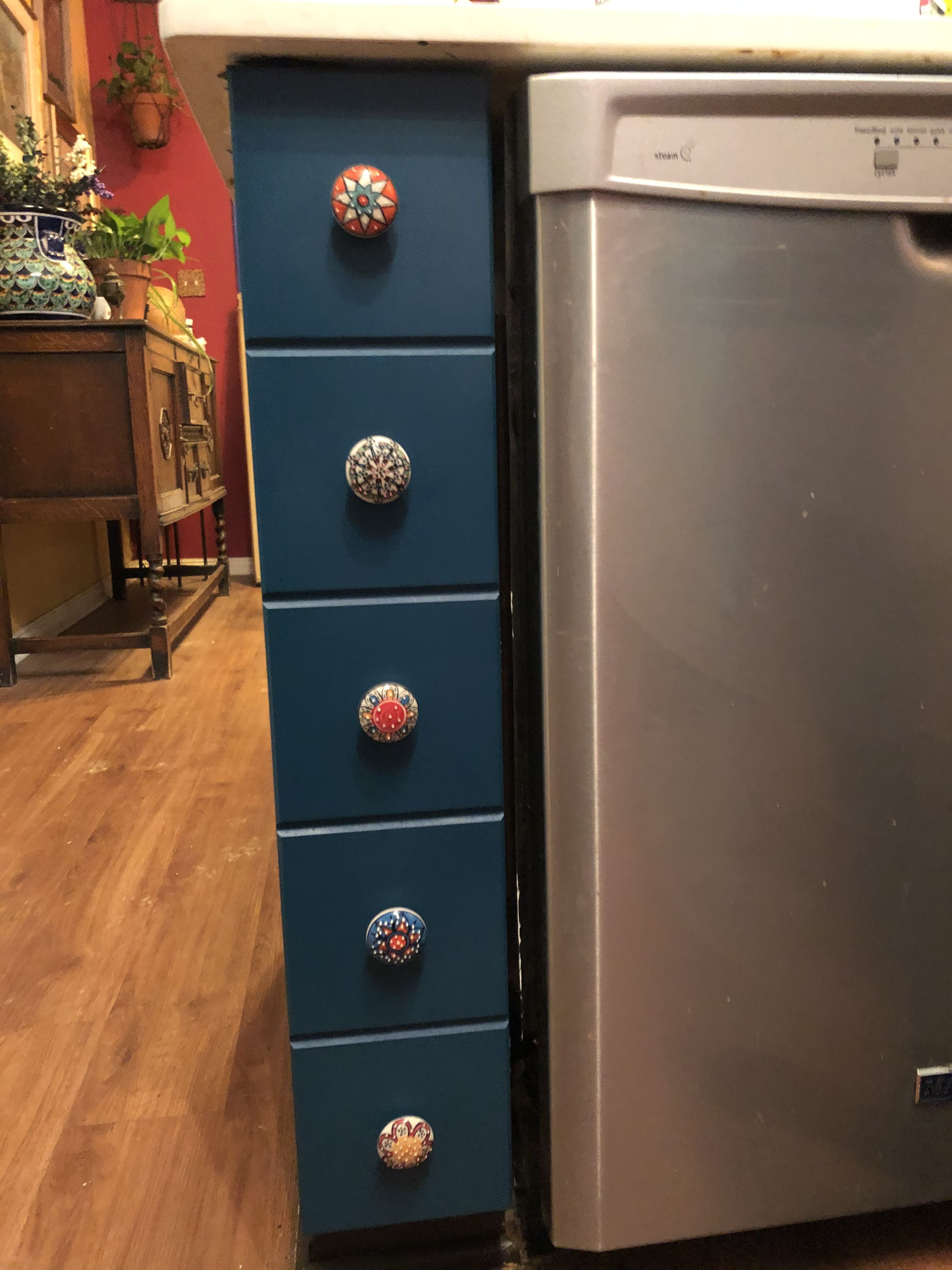 Pin on Colorful kitchen