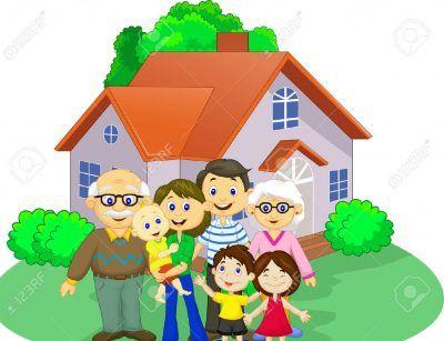 Imagenes Del Dia De La Familia Animados Familia Ilustracion