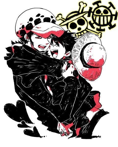 Trafalgar Law x Monkey D. Luffy