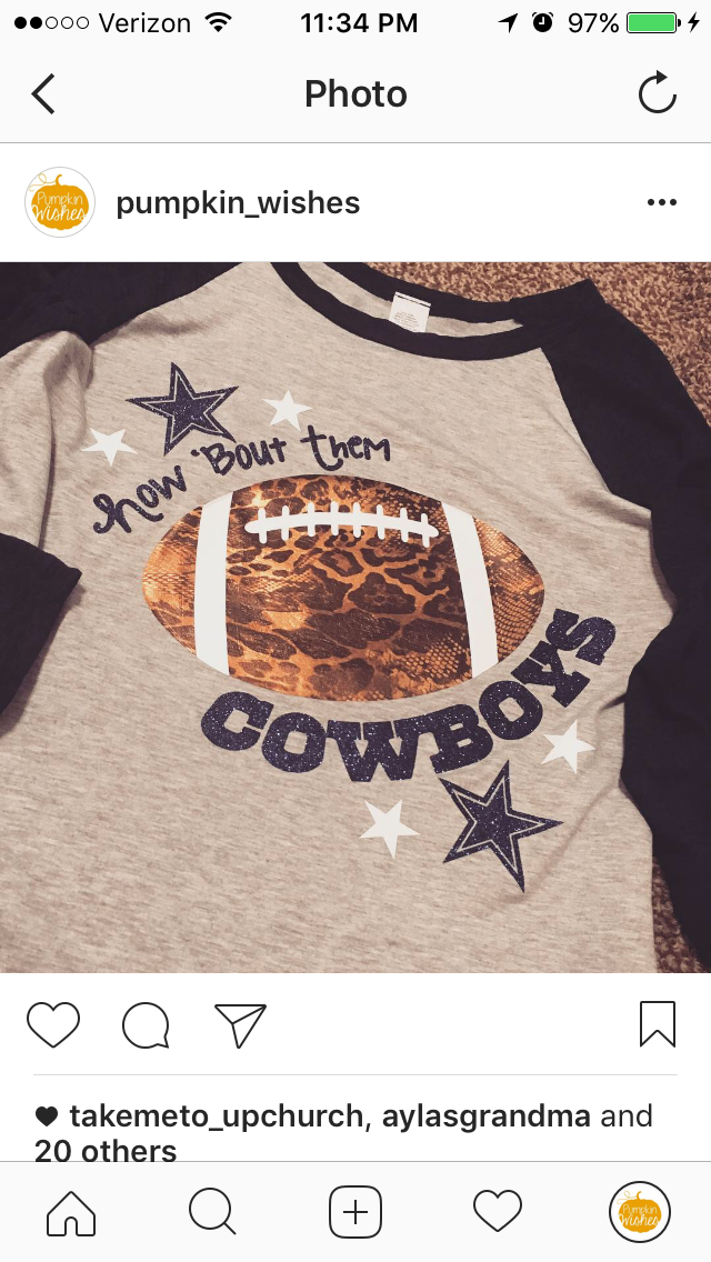 9f1a4f3f6 Dallas Cowboys vinyl shirt https   www.fanprint.com stores