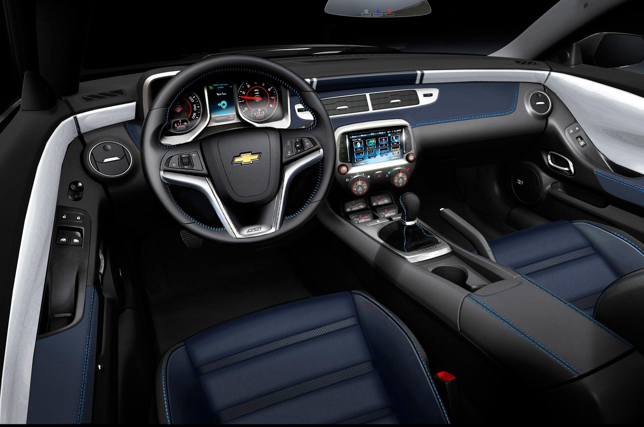 Exceptional 2014 Chevrolet Camaro Spring Special Edition 2013 Sema Concept Interior View  (2048×1360) Nice Ideas