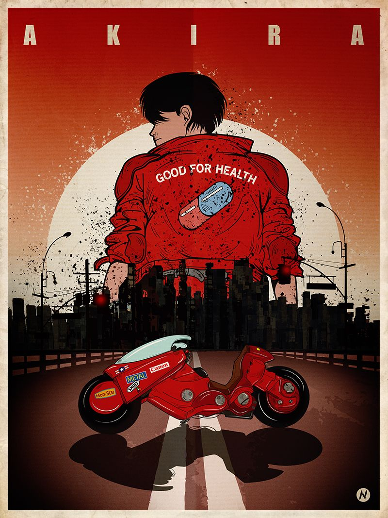A1 - A2 AKIRA Theatrical Poster