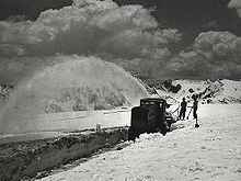 Snow Blower Invented By Arthur Sicard In 1927 Canada Rocky Mountain National Park Snow Blower
