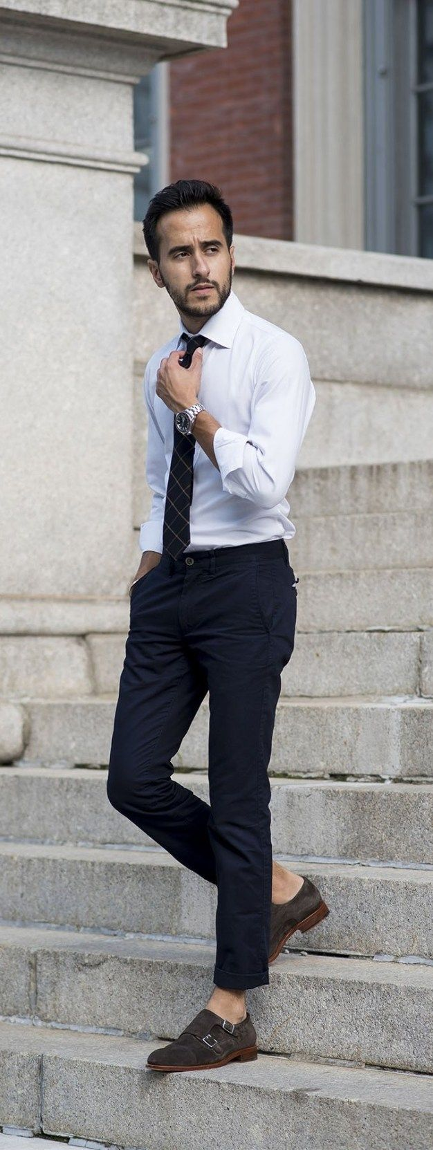 How to rock the white shirt look mens fashion pinterest white