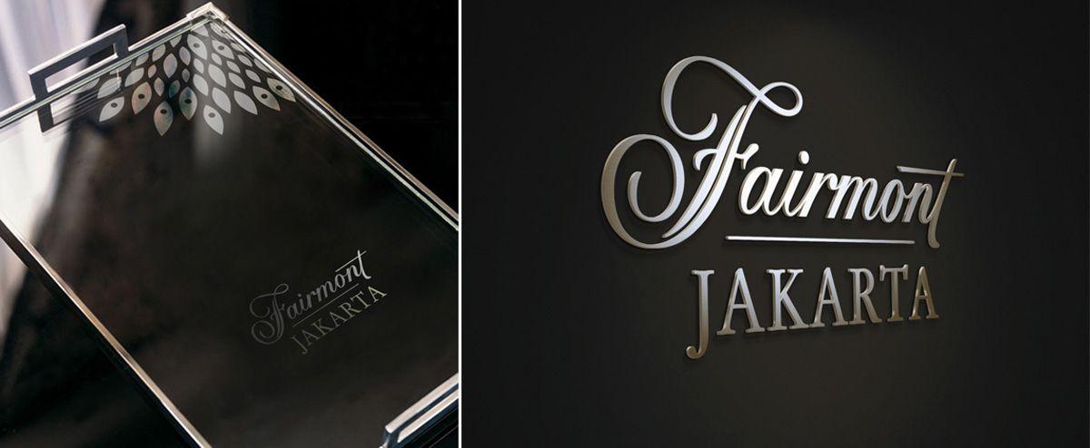 Hba Graphics Fairmont Jakarta Hotel Signage Fairmont Jakarta Fairmont