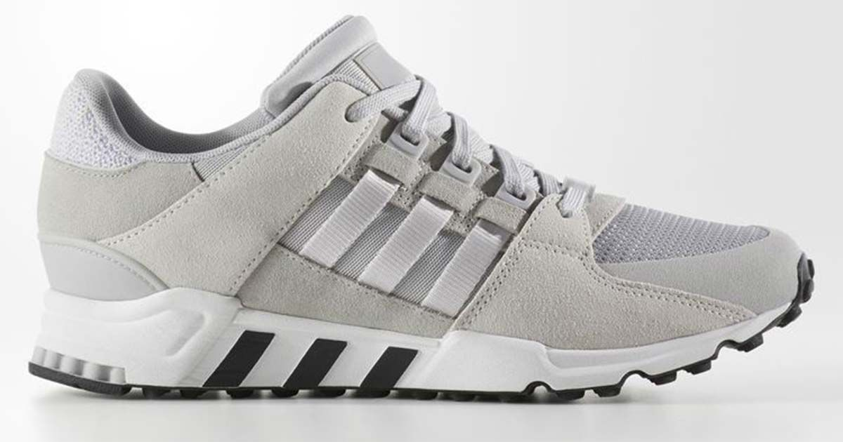 huge discount 10235 0b0f3 Get These White  Grey Adidas EQT Support RF For Just 80 Shipped While  Supplies Last!