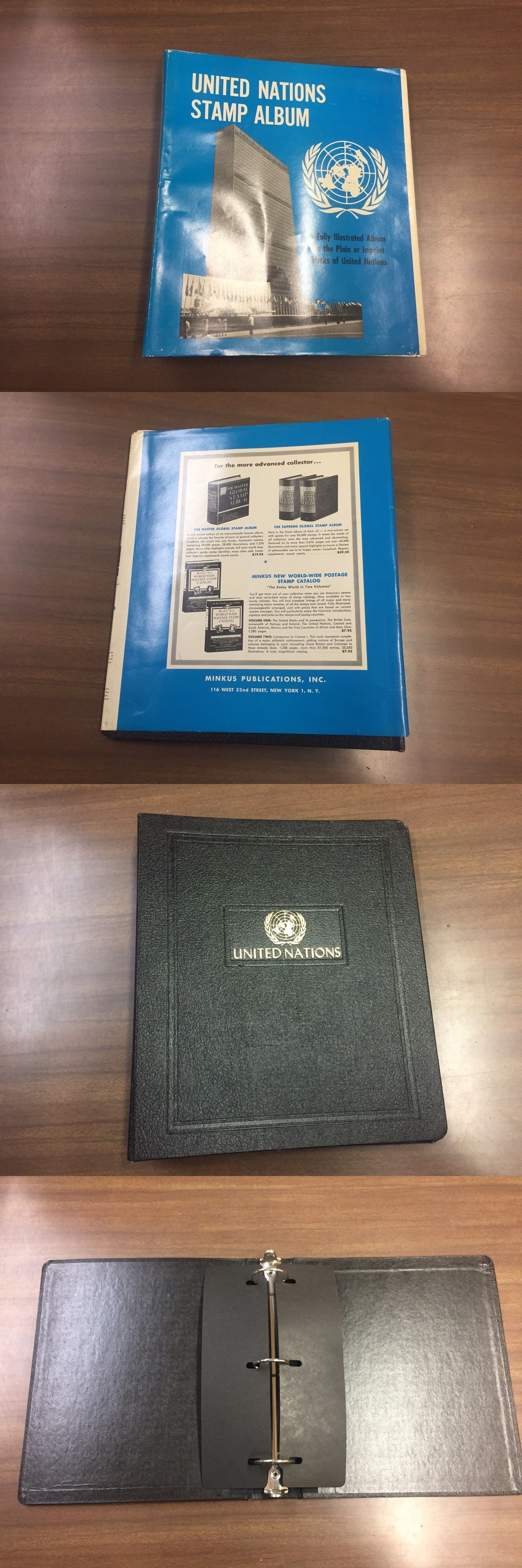 Albums 162057: Minkus Binder For United Nations Stamp Album