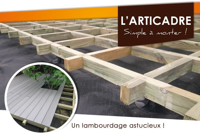 construction-terrasse-bois-articadre Backyard Pinterest Backyard