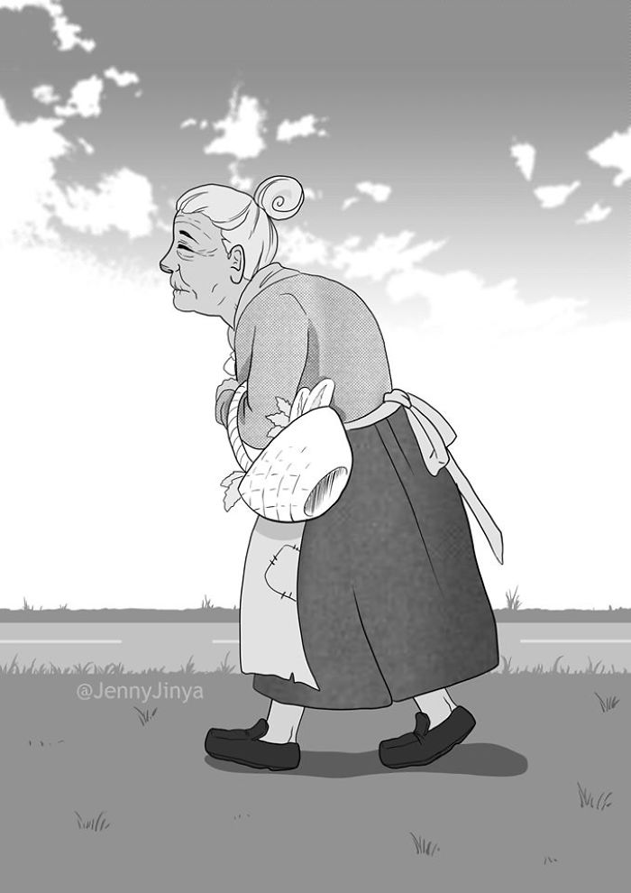 Pin on Black Cat, a sad comic by Jenny Jinya