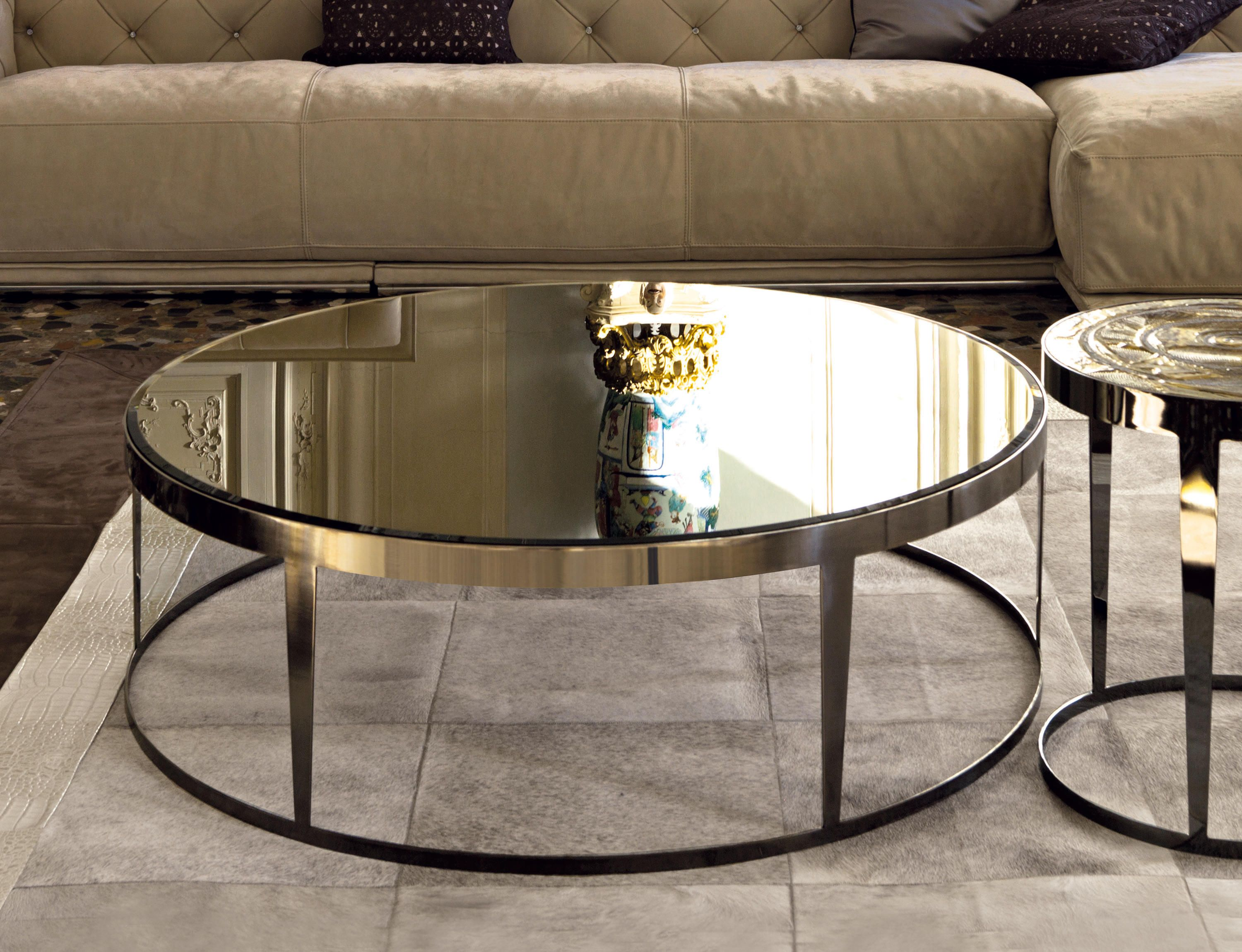 Amadeus Designer Coffee Tables From Longhi All Information High Resolution Images C Mirrored Coffee Tables Modern Glass Coffee Table Glass Coffee Table [ 2300 x 3000 Pixel ]
