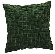 """Green Velvet Pillow - 18"""" Square- $49.99 from Uptown Simple #decorativepillow #throwpillow #homedecor #holidays"""