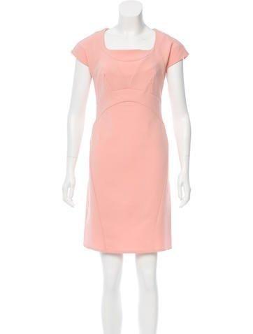The RealReal - Zac Posen Zac Posen Wool Sheath Dress - AdoreWe.com