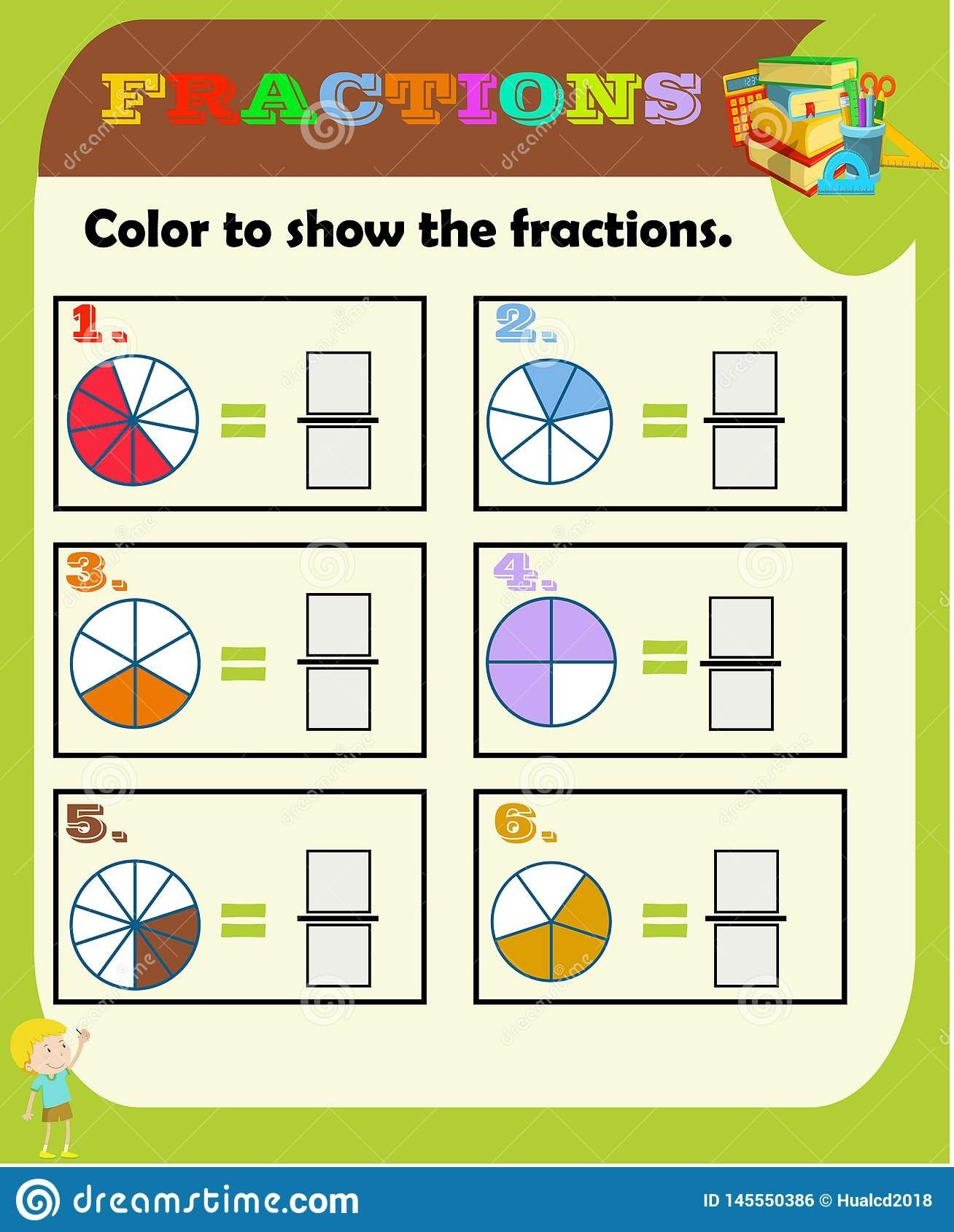 20 Worksheets Fraction Of A Number