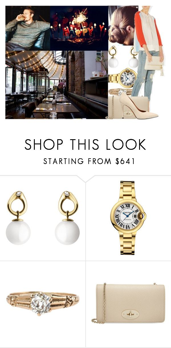 Joining a couple of friends to celebrate the birthday of Stefan at Riche in Stockholm by swedish-princess on Polyvore featuring Givenchy, Mulberry, Georg Jensen and By Malene Birger