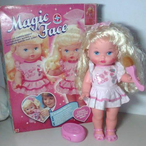 Boneca Magic Face Aninhahotlove Brinquedos Anos 80