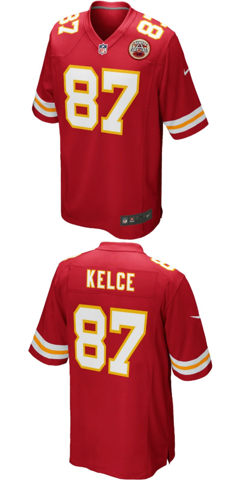 sports shoes 882f8 2524f UP TO 70% OFF. Travis Kelce Kansas City Chiefs Nike Salute ...
