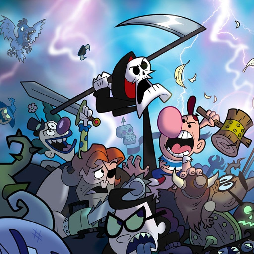The Grim Adventures Of Billy Amp Mandy ☠ The Best Cartoon