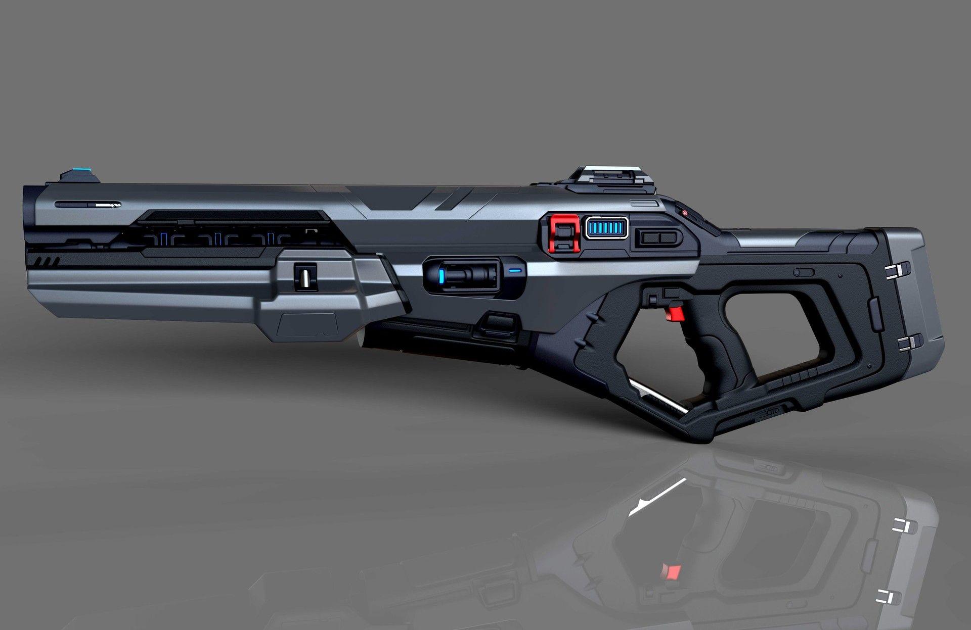 Assault Plasma Rifle Killustrated Pinterest Concept Weapons