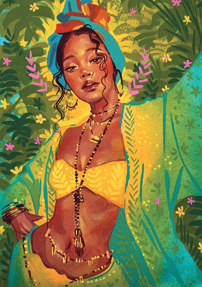 Photo of SHOP PRINTS — Amina Illustration