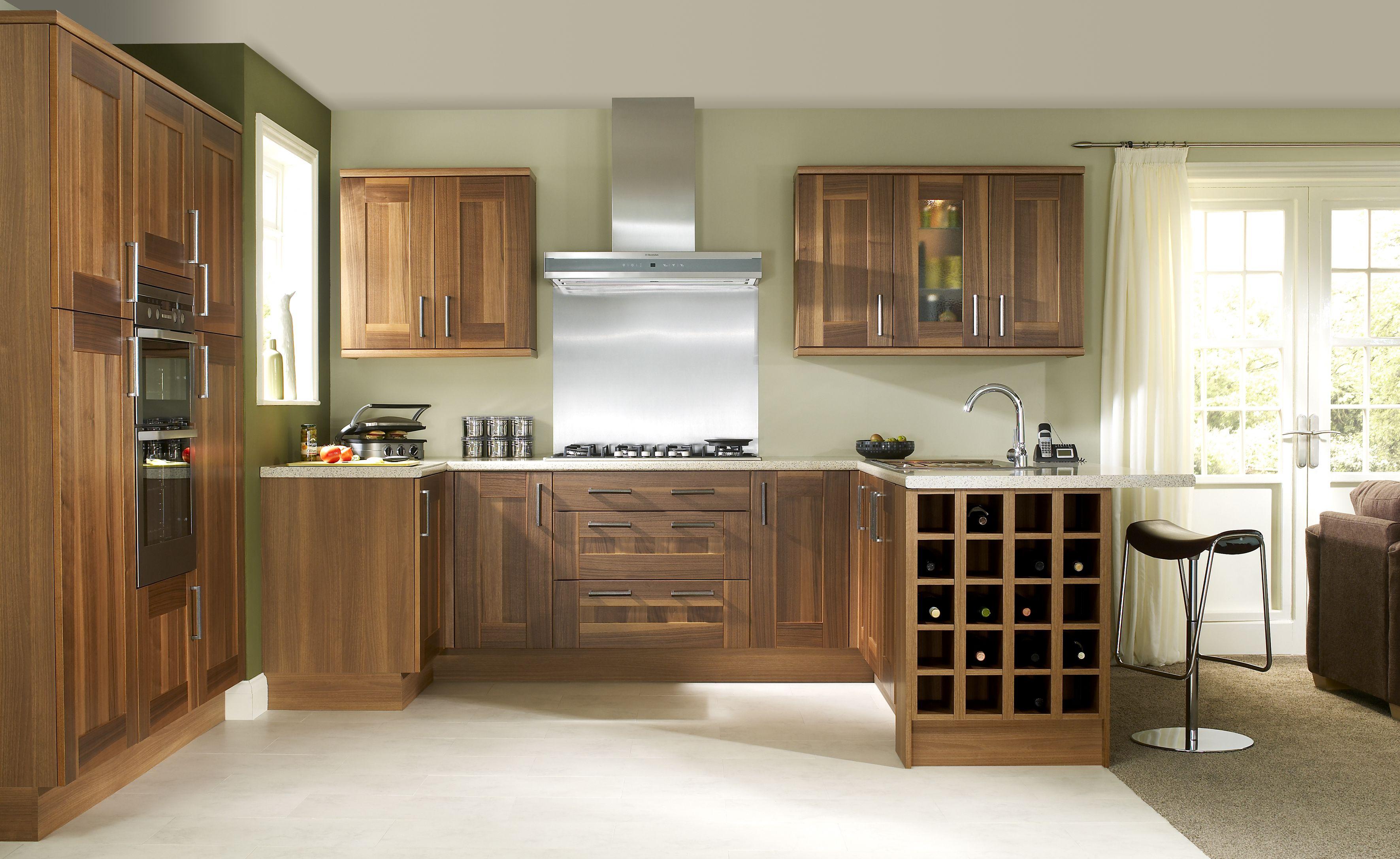 Pin By Gea Gurun On Walnut Kitchen Ideas Symphony Kitchen Small Kitchen Makeovers Kitchen Units