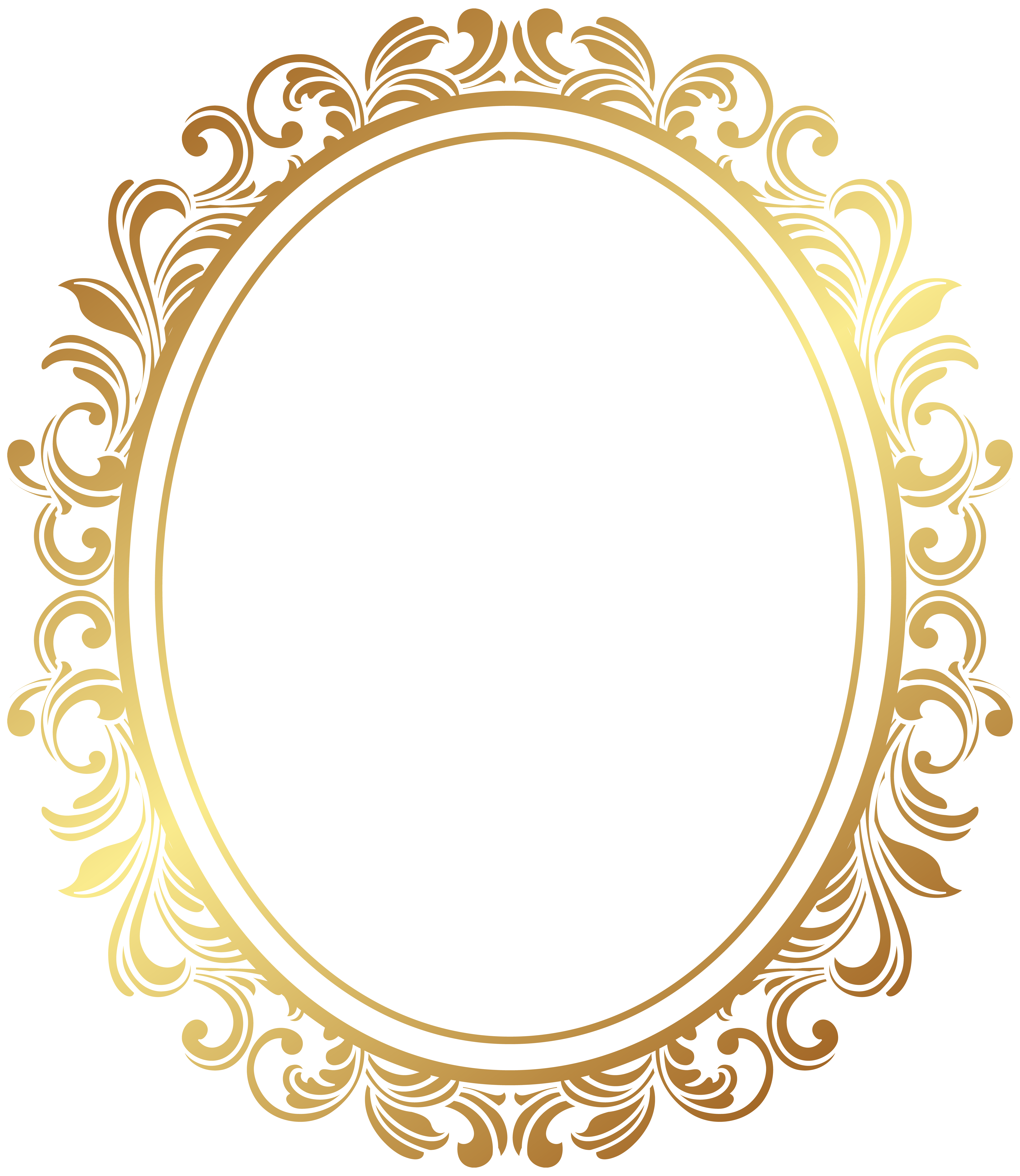Oval Border Deco Frame Png Clip Art Gallery Yopriceville High Quality Images And Transparent Png Free Clipart Royal Frame Puzzle Art Photo Frame