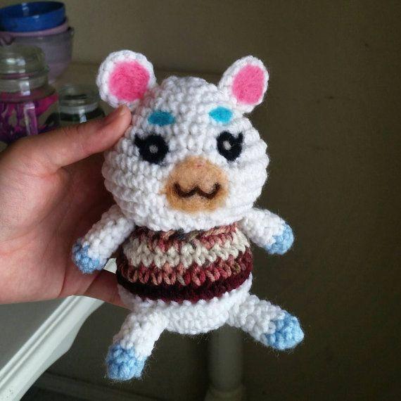 1e3d2e22c5e Crochet Amigurumi Animal Crossing Villager Mini Flurry