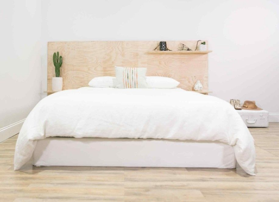 15 Diy Headboard Ideas To Be Your Weekend Project Small Bedroom Diy Diy Headboard Diy Headboards