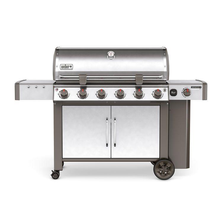 Weber Genesis® II LX S-640 GBS® Edelstahl 63004179 Weber Grill - outdoor küche edelstahl