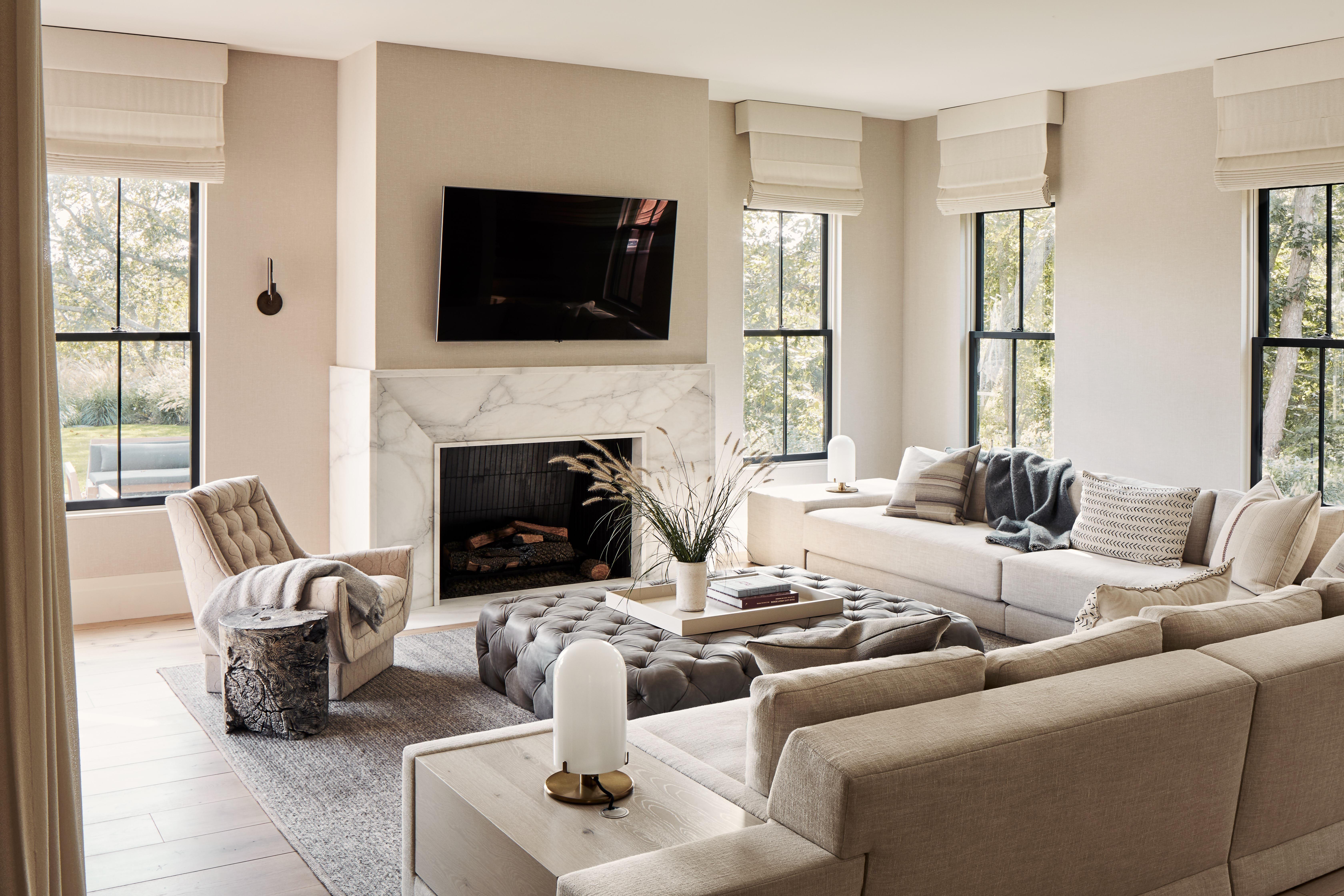 oc living room in the hamptons ny designkosa and