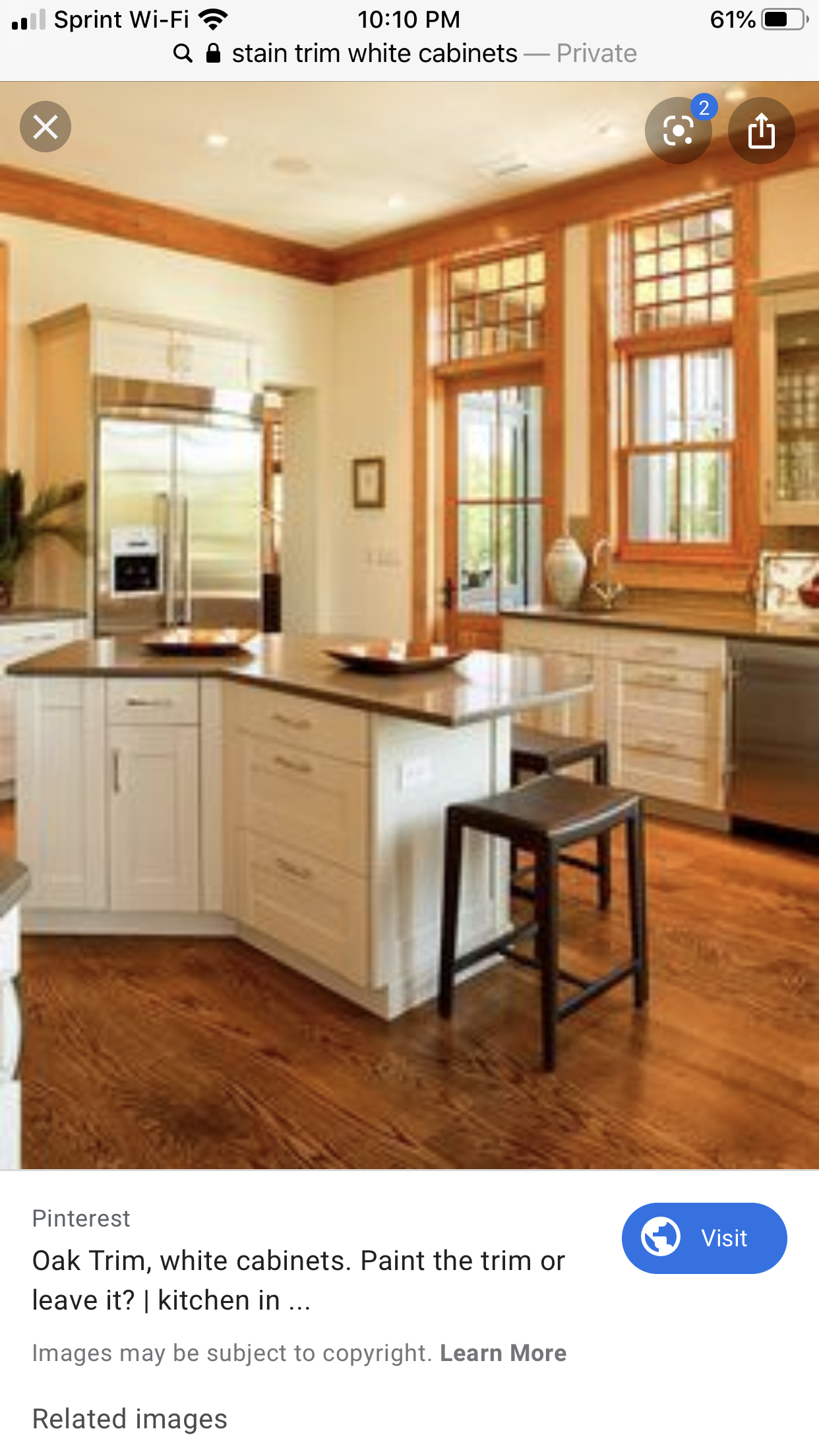 Pin By Lacie Myszak On Home Kitchen In 2020 White Kitchen Oak Trim Vintage Kitchen Cabinets Crown Molding Kitchen