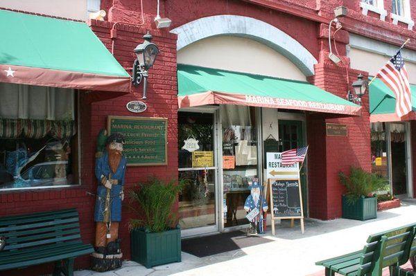 Fernandina Beach Amelia Island Seafood Restaurant Restaurants Diners