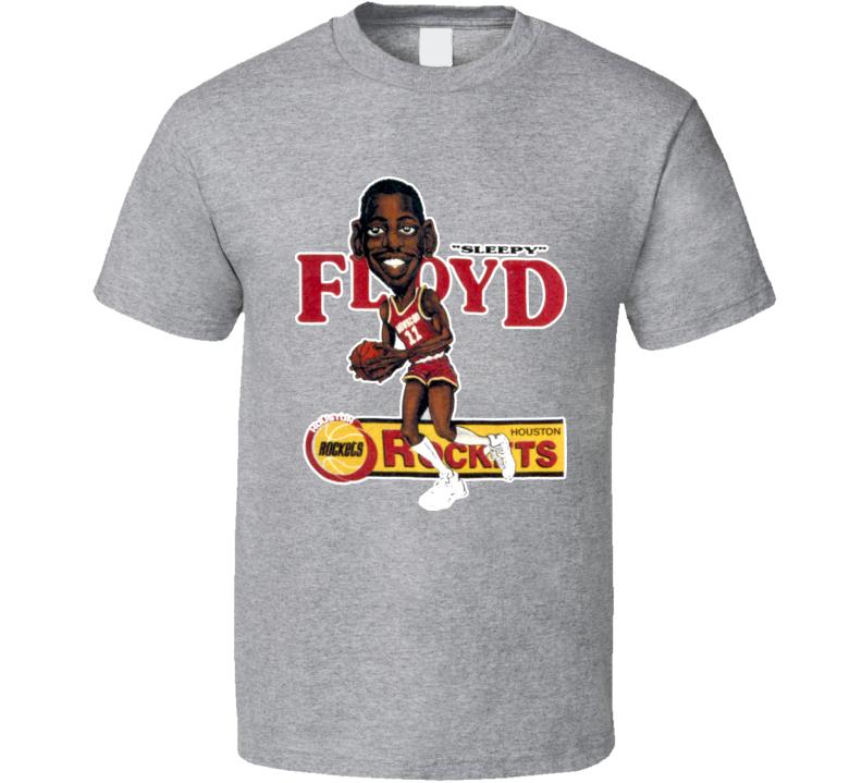 designer fashion 52992 6f635 Eric Sleepy Floyd Retro Basketball Caricature T Shirt | My ...
