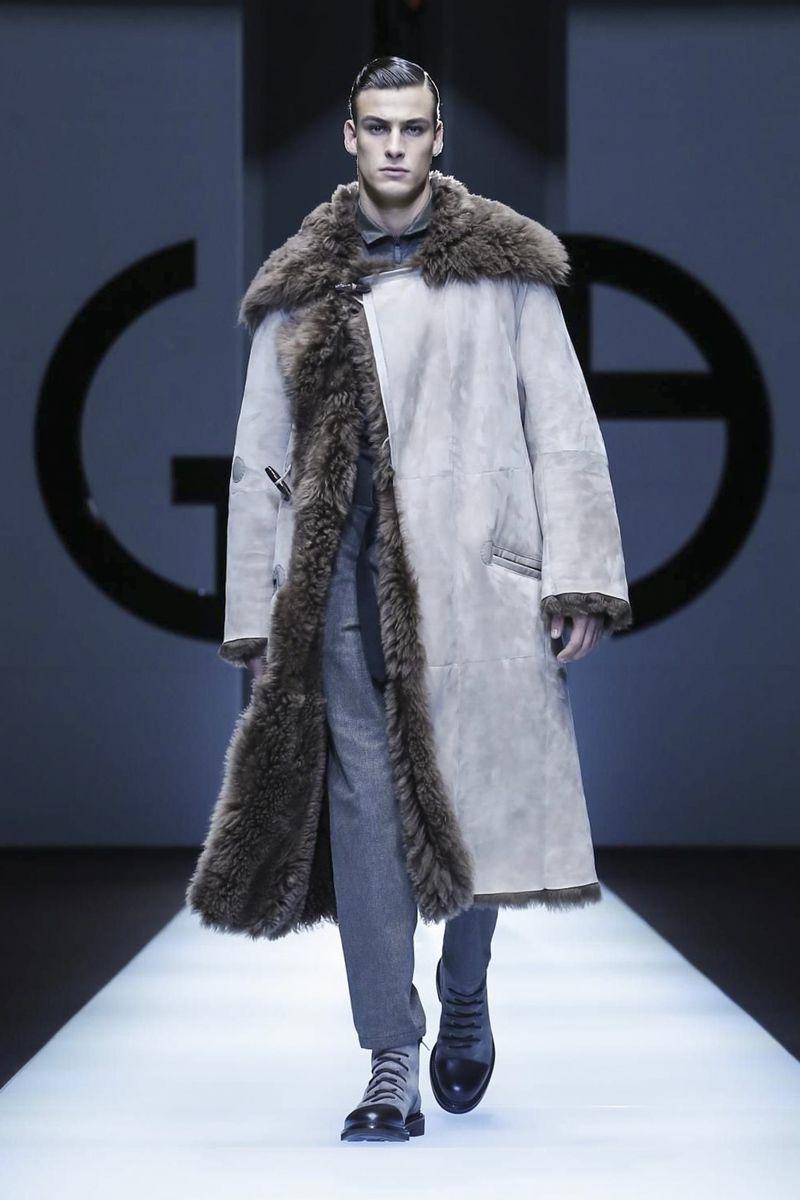 30453cdf Giorgio Armani Menswear Fall Winter 2018 Milan | Fashion in 2019 ...