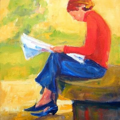 Reading and Art: Karen Cooper, Morning news