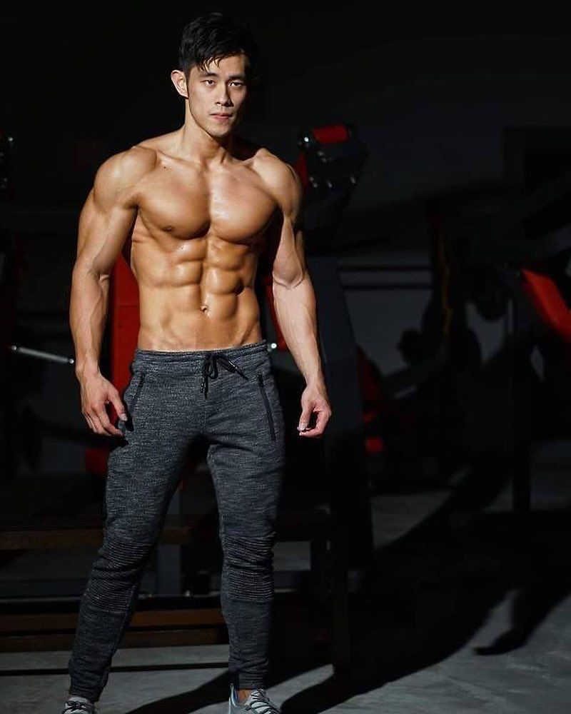 Gay abs tannned