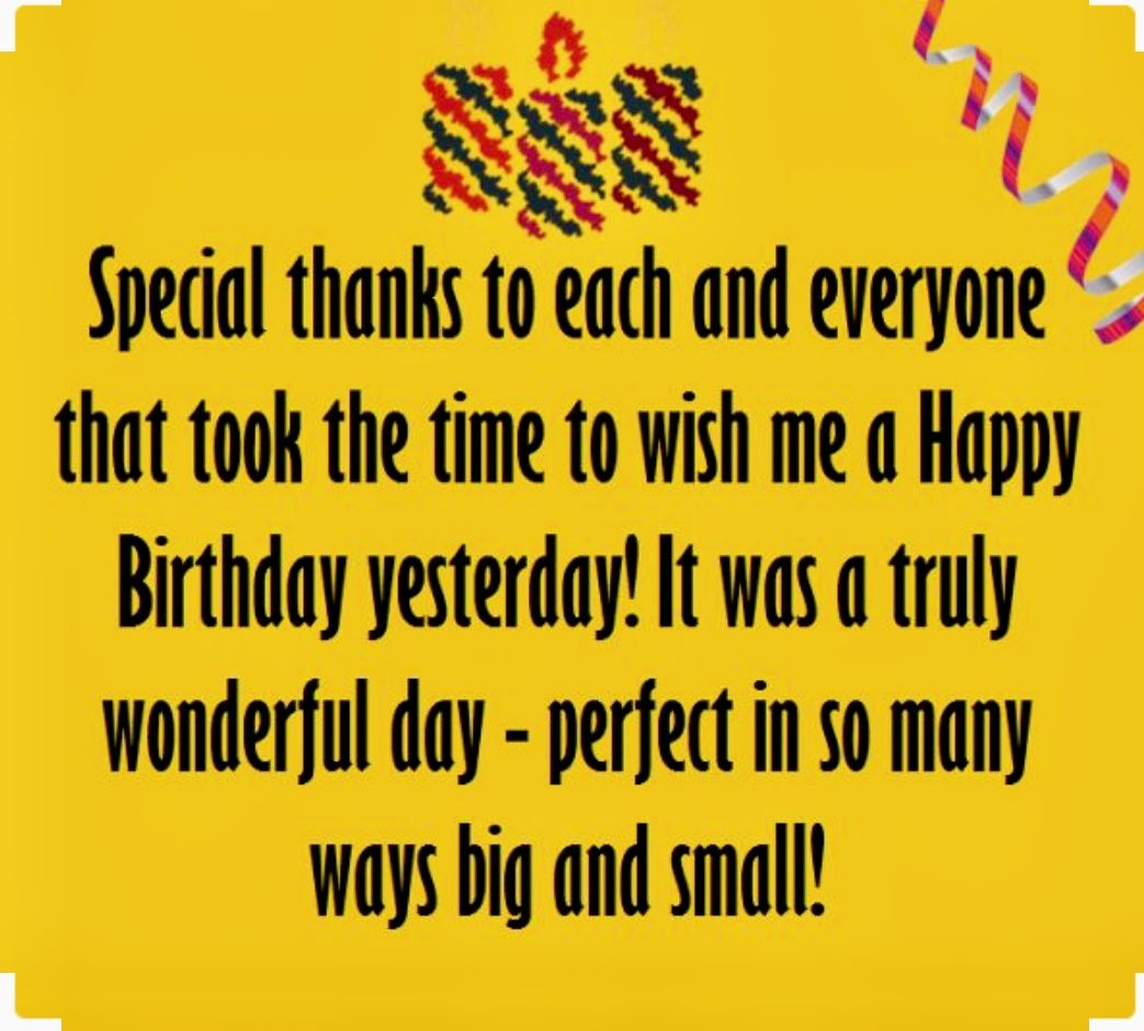 Pin By Dympna Reidy On Thank You Birthday Wishes Reply Birthday Wishes Words