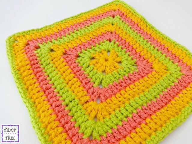 Free Crochet Pattern...Tropical Punch Dishcloth! | Crocheted ...