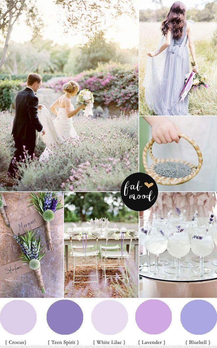 Secret Garden Wedding Lavender