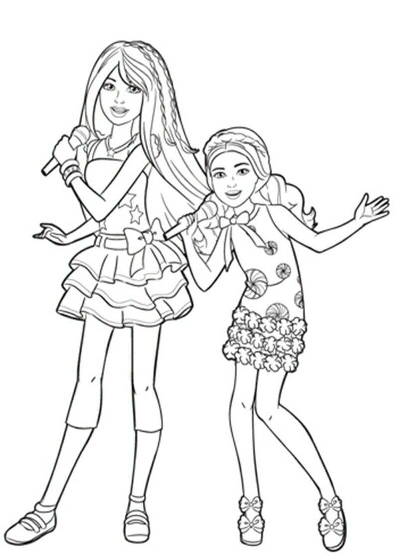 Pin By Renata On Barbie Coloring Free Kids Coloring Pages Barbie Coloring Barbie Coloring Pages
