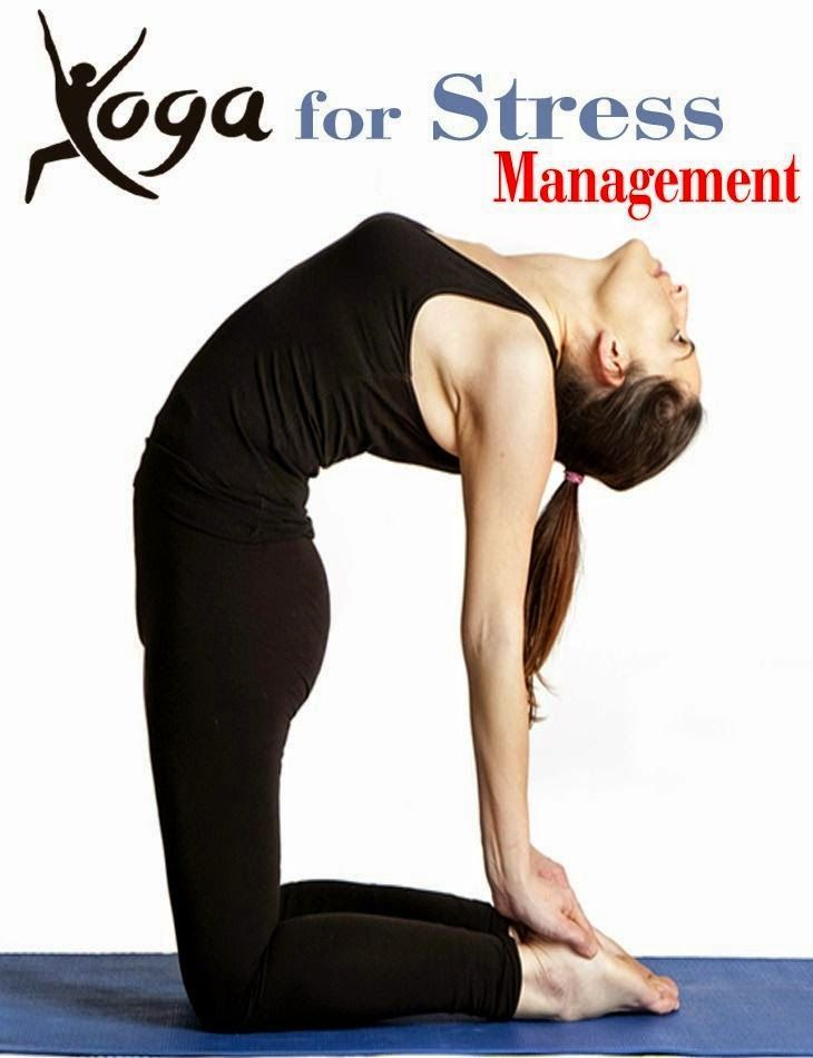 Yoga for Stress Management | Stress management, Yoga poses ...