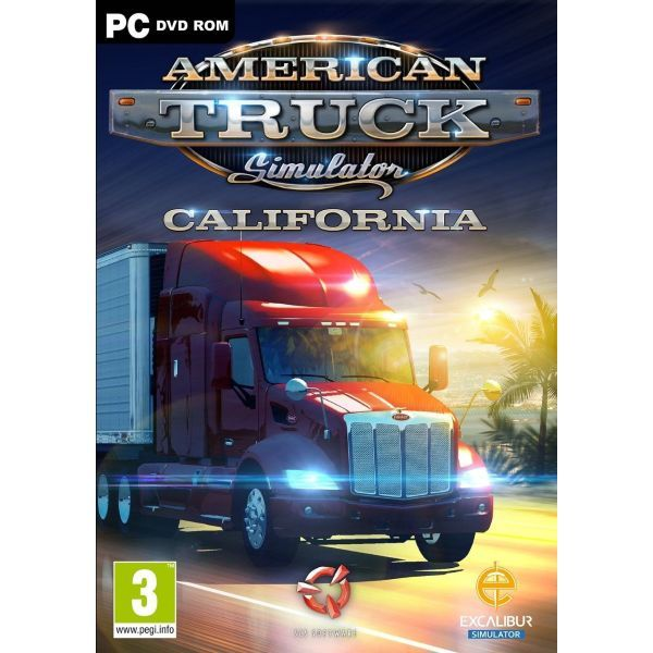 American Truck Simulator California Pc American Truck