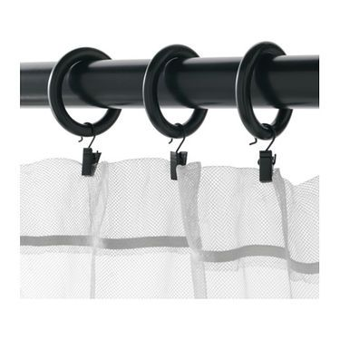 Shop For Furniture Home Accessories More Curtains With Rings Curtain Rings With Clips Ikea