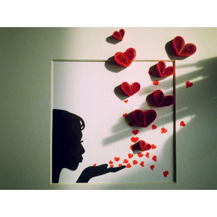 Tableau quilling art deco poser ou accrocher au mur for Deco quilling