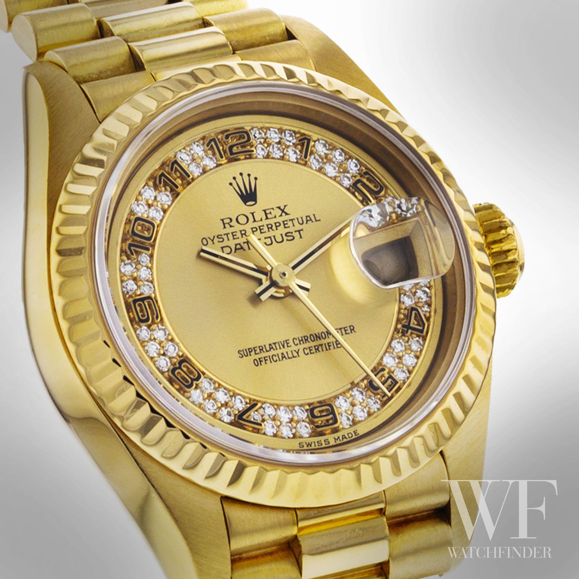 Rolex Datejust Datejustlady 69178 Watchfinder Rolex In 2019