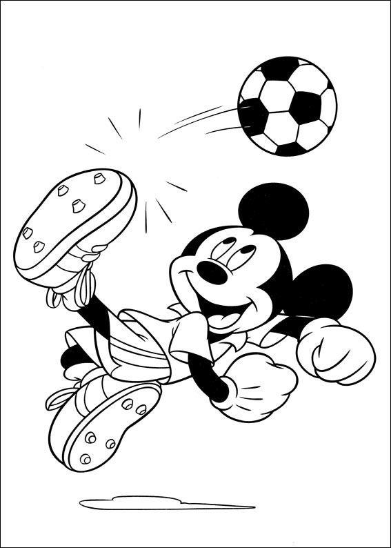 Mickey Mouse Kleurplaten 23 Disney Pinterest Kleurplaten