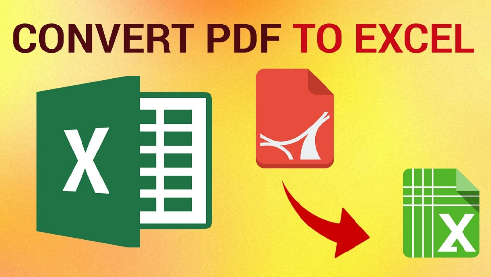 Understanding The Usage And Utilization Of Free Pdf To Excel Converter Converter Words Excel