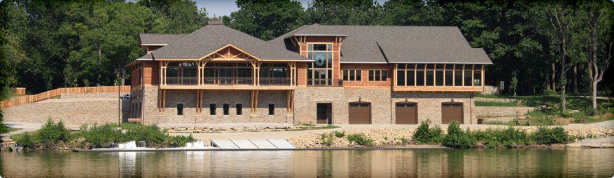 Griggs boathouse on the scioto river offers the scioto